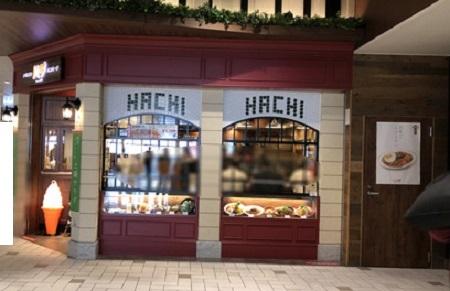 HACHIお店
