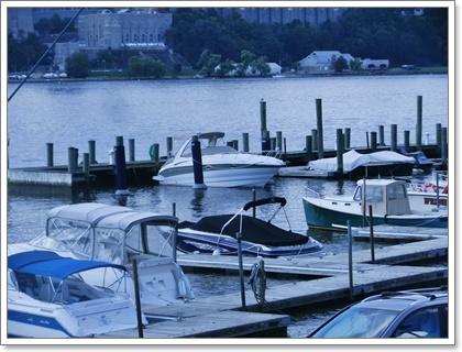 ハドソン川沿い