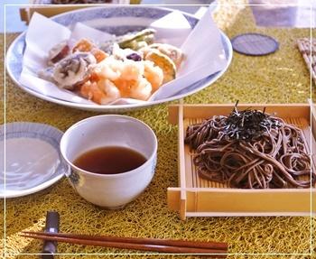 天ぷら蕎麦2