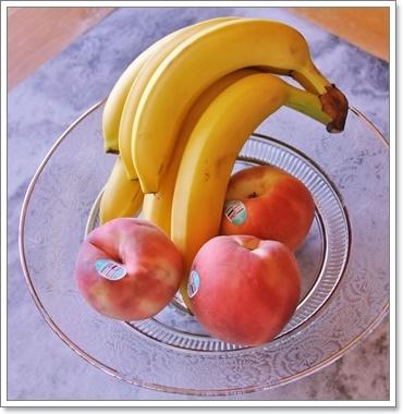 桃&バナナ