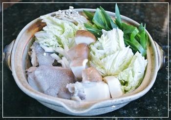 甘鯛の鍋物
