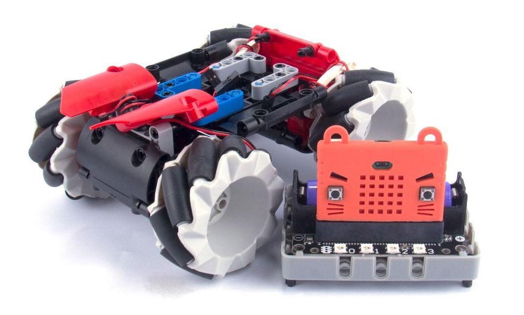 20190905a_Mecanum wheel Robot Bit _06