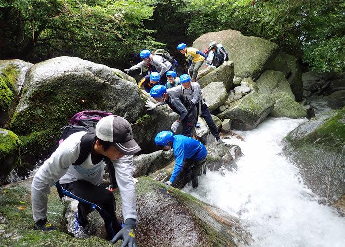 2019,8,25沢登り-3
