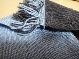 二重織りサンプル