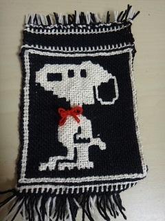 ヤノフ村の二重織り犬