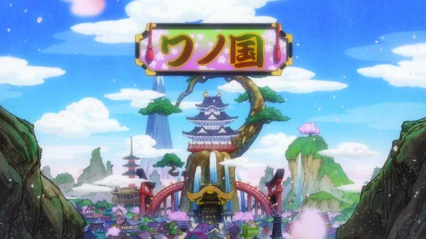ワンピース アニメ ワノ国