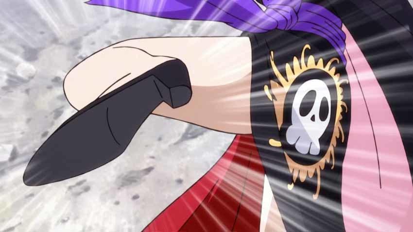 ワンピース アニメ ハンコック