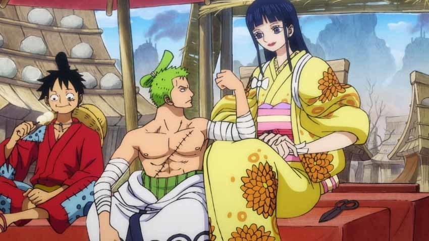 ワンピース アニメ お菊