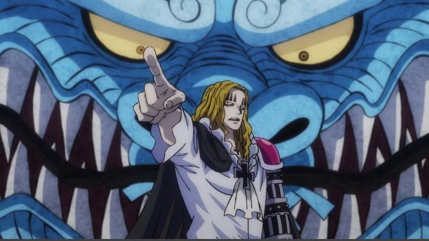 ワンピース アニメ カイドウ ホーキンス