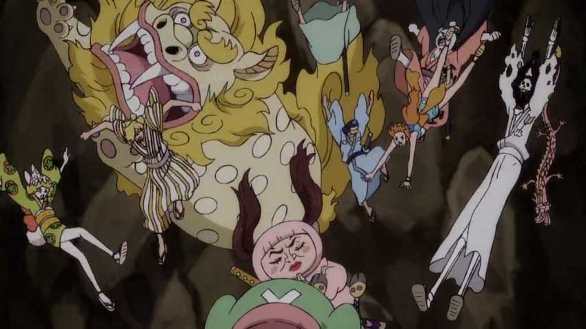 ワンピース アニメ おナミ