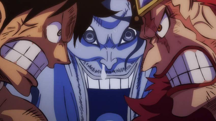 ワンピース アニメ ルフィ キッド