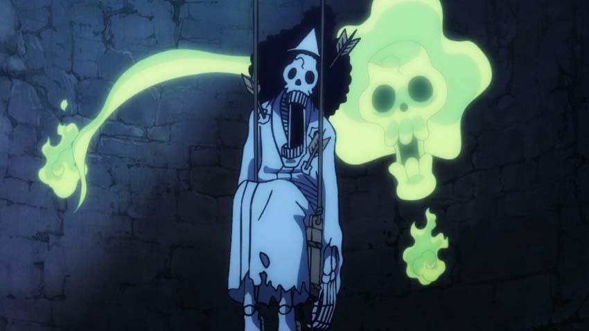 ワンピース アニメ ブルック
