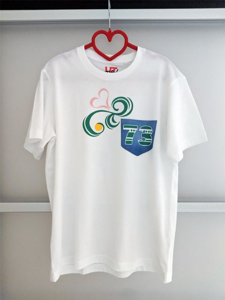 utme ナミ 73 Tシャツ