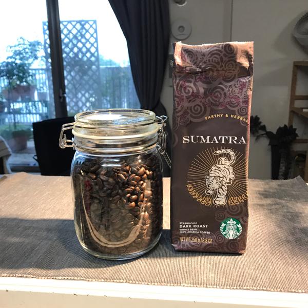 初のスタバコーヒー豆