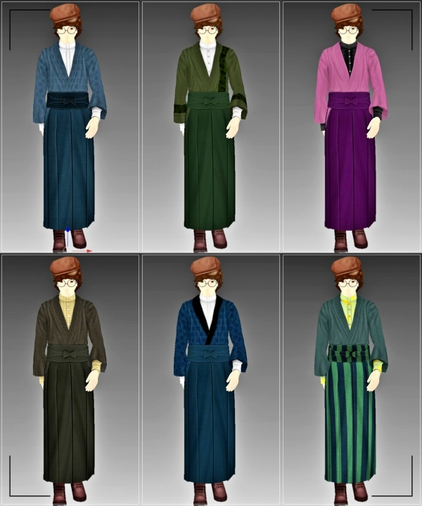 sims4 cc mod 配布 和服