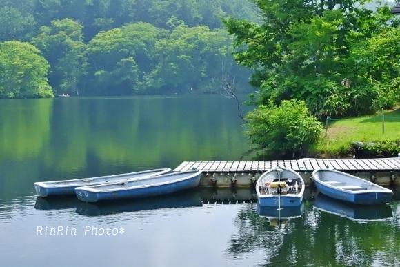 2019年8月希望湖ボート