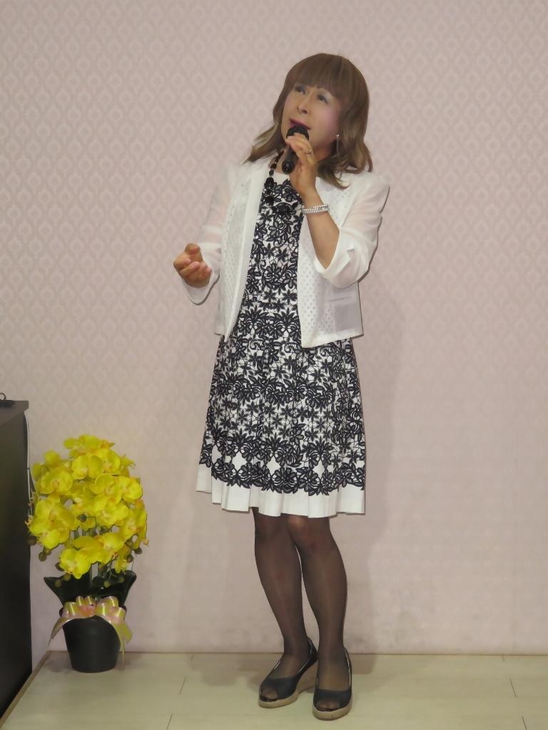モノトーンワンピカラオケ(5)