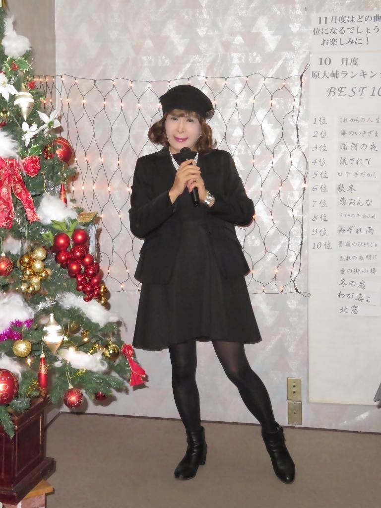 黒ワンピ黒ジャケットカラオケB(6)