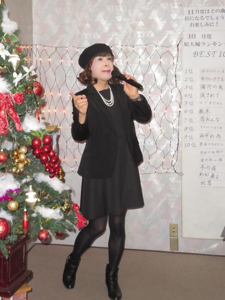 黒ワンピ黒ジャケットカラオケB(7)