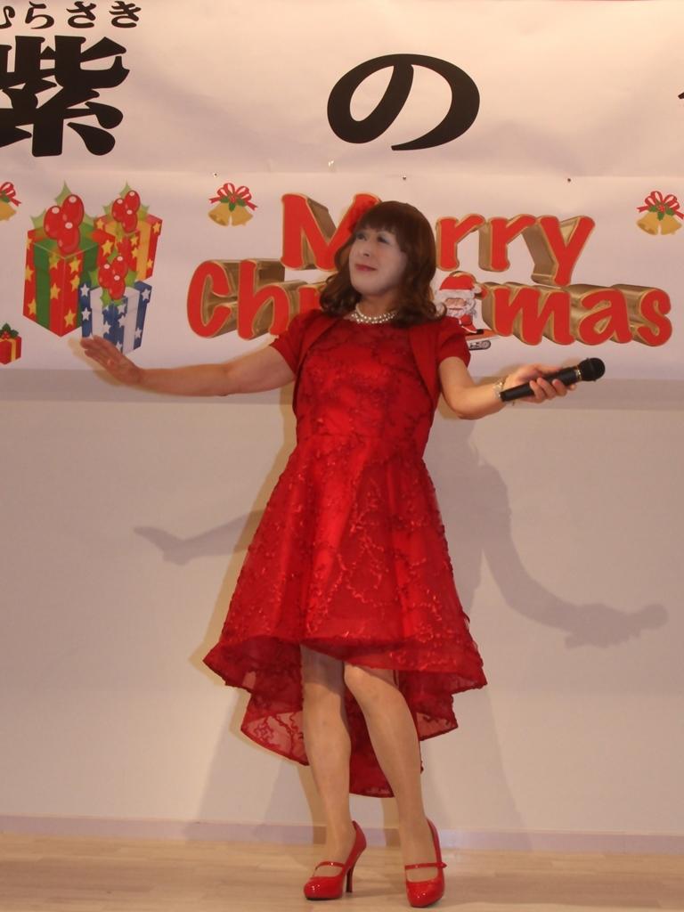 赤ショートドレス紫雲閣A(1)