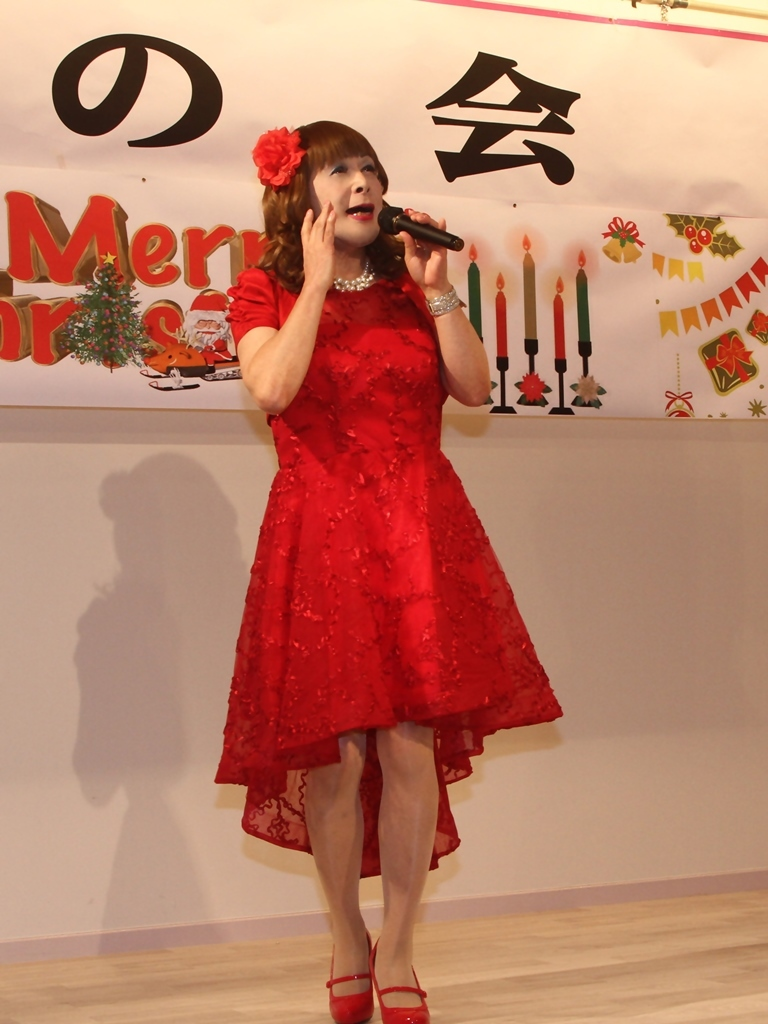 赤ショートドレス紫雲閣A(4)