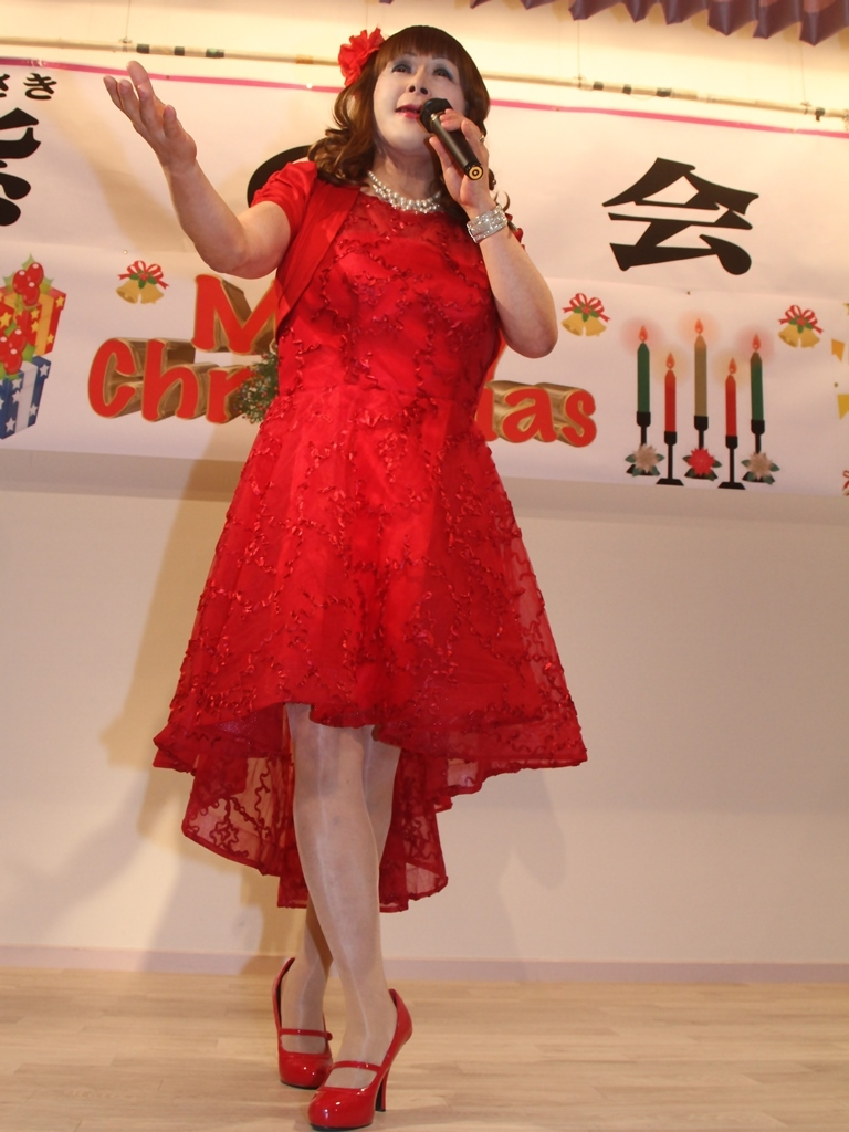 赤ショートドレス紫雲閣A(7)
