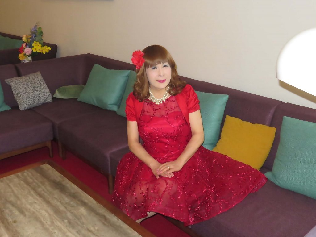 赤ショートドレス式場C(2)