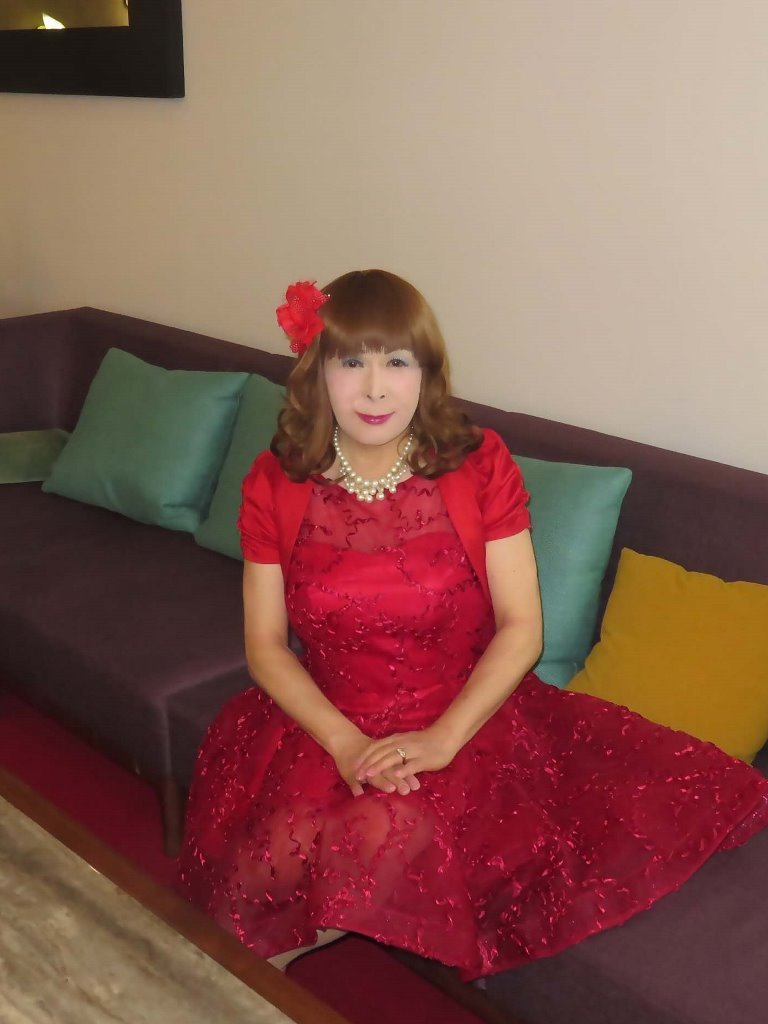 赤ショートドレス式場C(1)