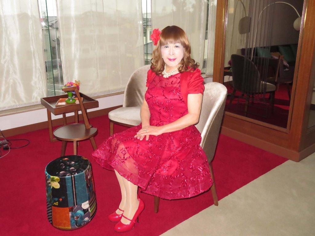 赤ショートドレス式場C(4)