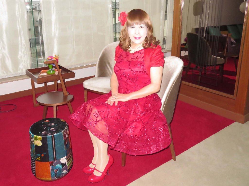 赤ショートドレス式場C(5)
