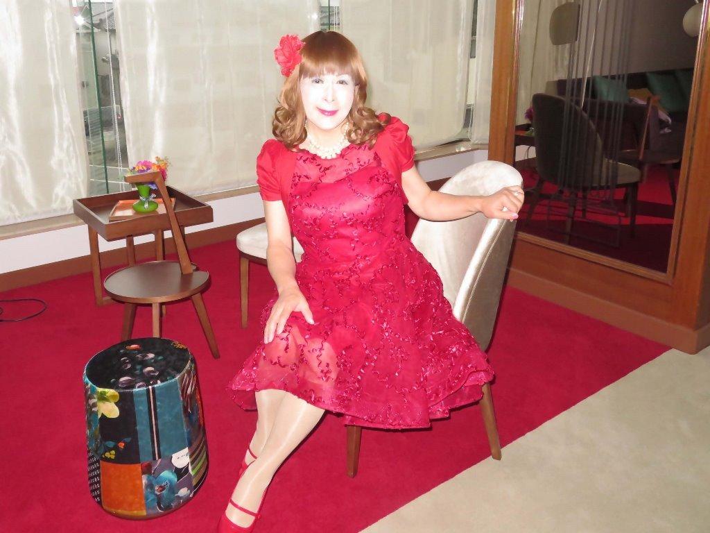 赤ショートドレス式場C(6)