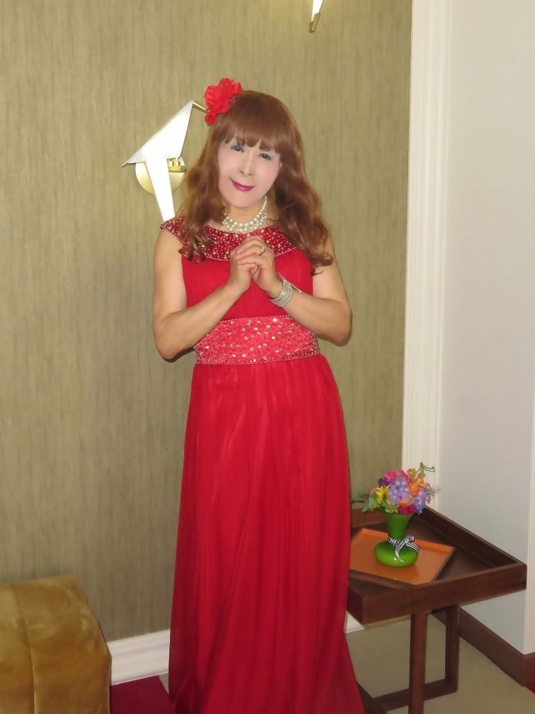 赤ロングドレス会場D(2)