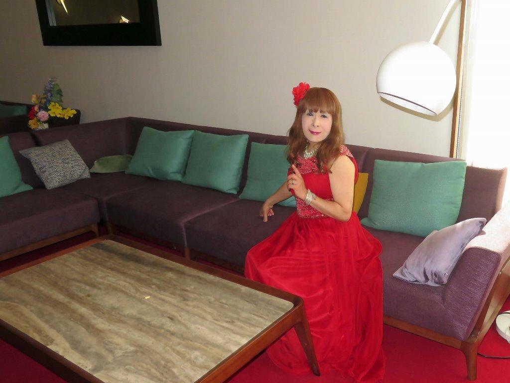 赤ロングドレス会場D(7)