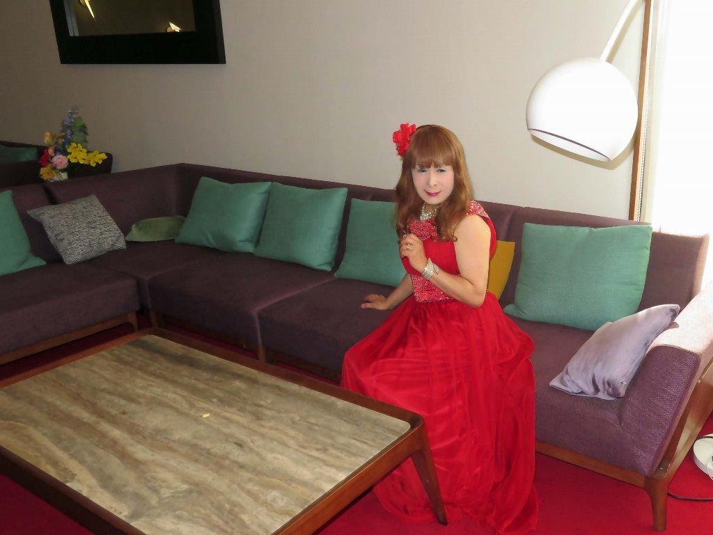 赤ロングドレス会場D(8)