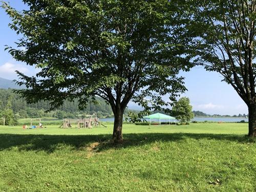 霊仙寺湖ドッグラン7