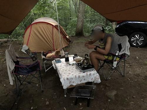 キャンプ2日目1