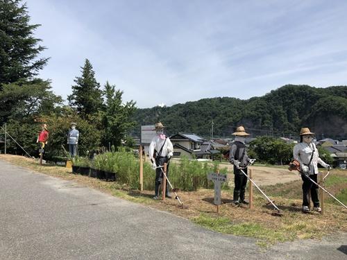 円野町かかし祭り2
