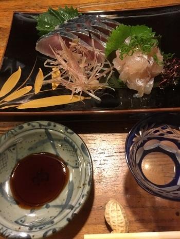 真鯛昆布〆としめ鯖