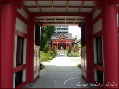 20190707 門まで 8  成子天神社
