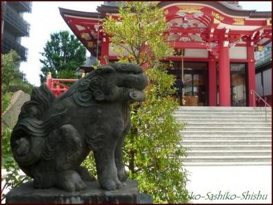 20190712 茅の輪まで 4  成子天神社