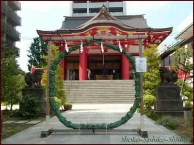 20190712 茅の輪まで 6  成子天神社