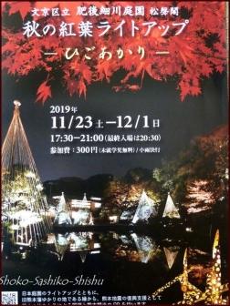 20191127 池を一周 18  細川庭園