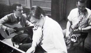 (左から)ジルベルト、ジョビン、ゲッツ