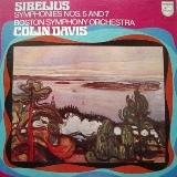 シベリウス 交響曲第5番 デイヴィス ボストン交響楽団(PHILIPS)