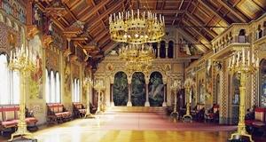 ノイシュヴァンシュタイン城(歌人の広間 )