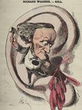 ワーグナーの戯画(Cover of LEclipse 18 April 1869 )