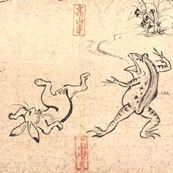 鳥獣戯画Wikimedia