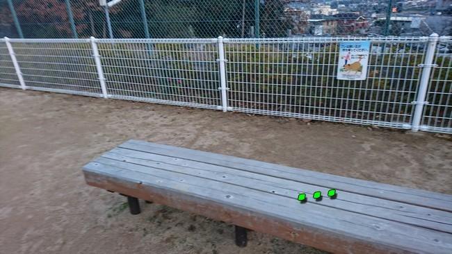 公園ベンチ2
