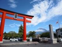 富士山と浅間大社