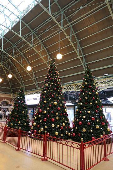 セントラル駅 クリスマスツリー - 1